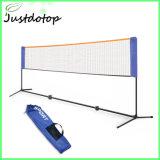 Bens móveis profissional Formação Ajustável Badminton Net com a Estrutura