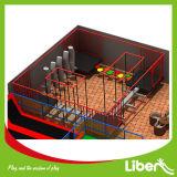 Parc de trempoline d'enfant certifié par TUV grande région de saut libre avec le saut de mousse