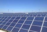 El panel solar monocristalino