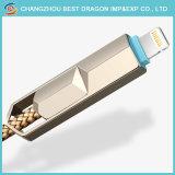 Nylontyp c-schnelles aufladenkabel Soemumsponnener USB-3.1 für iPhone und Android