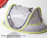 Der Baby-Produkt-UV50+ Moskito-Netz Baby-faltbare Strand-Ventilations-wasserdichtes Farbton-des Kissen-3-Door