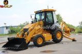 Backhoe do carregador Jx45 da roda do lobo