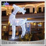 Holiday Customized Outdoor Laser Decoração de Natal LED Reindeer Light