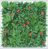 [أوف] يحمى سلع معمّرة [فيربرووف] اصطناعيّة عشب ورقة سياج سياج اللون الأخضر جدار شاشة عزلة شاقوليّة حديقة تمويه معمل