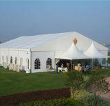 Evento de exposições ao ar livre tenda, forro e decoração de Cortina
