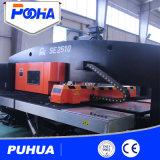 セリウムの品質のサーボ運転された4つの軸線CNCのタレットの穿孔器機械