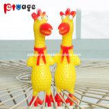 닭 비닐은 개를 위한 고무 장난감 Speaky 장난감을