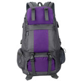 Grande capacidade personalizados impermeável ao ar livre caminhadas Backpack Sport Saco de viagem