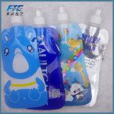 Food Grade bouteille d'eau en plastique pliable portable