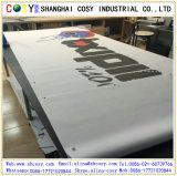 PVC de vente chaud annonçant le drapeau de Frontlit pour l'usage extérieur