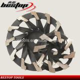 Поделенное на сегменты колесо чашки диаманта меля для конкретный полировать