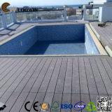 Suelo del Decking del balcón WPC del jardín de la casa de la alta calidad (TW-02B)