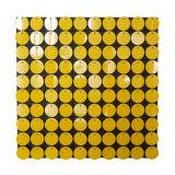 2018 Diseño de oro decorativos Shimmer mosaico de pared