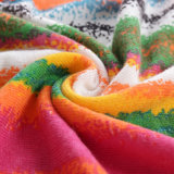 Novos tecidos pulôver suéter feminina Imprimir&Designs Jacquard Fashion Mulheres Manga Longa