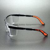 Het Frame van het Oogglas van de Bril van de Veiligheid van de Lens van PC van het anti-effect (SG110)