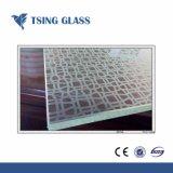 de Druk van de Serigrafie van 312mm maakte Glas/Decoratief Glas met Aangepaste Ontwerpen/Grootte aan