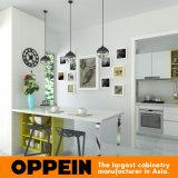 ビルマの現代白いアクリルの小さい木製の食器棚(OP15-A02)