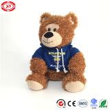 O urso da peluche da alta qualidade de Ecuad com presente de Hoody caçoa o brinquedo