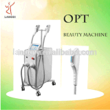 2017 Langdi Opt/Shr Hair Removal Machine avec unité de puissance de haute qualité