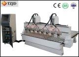 Gravura Multi-Head Máquina CNC de corte com oito fusos