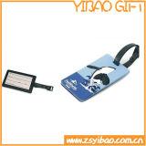 広告するための工場価格PVC荷物の手荷物札ギフト(YB-t-008)を