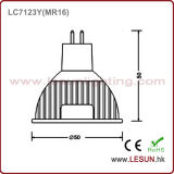 4 W MR16 DC / AC 12V LED Bulb Spotlight para exibição de jóias
