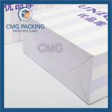 Sac à provisions estampé par coutume de papier d'emballage (DM-GPBB-130)