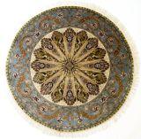 Круглые ковры шелковый ковер ковры ручной работы в Шанхае, Китай