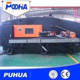 Máquina conduzida servo da imprensa de perfurador da torreta do CNC