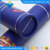 Logotipo estampado de lámina personalizada largo tubo de papel para diploma