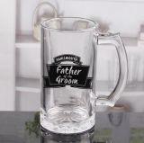 Tazza di vetro della birra della tazza di birra del regalo della tazza di vetro promozionale della birra