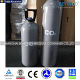 Cilindro de gas de acero del CO2 de GB5099 ISO9809-3 150bar 200bar 10L
