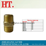 Pipe Brass montaje NPT Male Pipe Hex Nipple (MIP X MIP)
