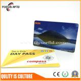ISOは切符に使用したRFIDのカードを印刷した