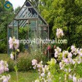 Горячая продажа Sainpoly стеклянной крышкой сад парниковых