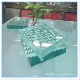 Lamelliertes Gleitschutzglas für moderne Innenbefestigung