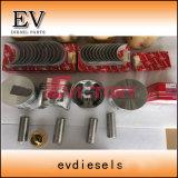 S4q S4P2 S4S4e el anillo del pistón camisa del cilindro Kit para las piezas del motor Mitsubishi