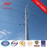 Bitumen-elektrische Leistung Pole für 33kv Transmission Line