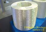 E-Glass itinerante montada para bobinado de filamento
