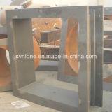 Grande parete del cilindro porta caratteri della parte del pezzo fuso d'acciaio di formato