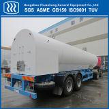 Flüssiger CO2 Becken-Auto-halb Schlussteil-Tanker N2-O2-AR