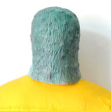 Masque préféré de pigeon de Cosplay d'usager de Veille de la toussaint de latex