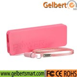 2600mAh Li-Polymer Battery Parfum Thin Keychain Chargeur portable Power Bank