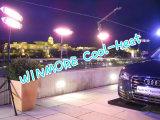 Radiadores Quartz-Halogen Aquecedor impermeável IP65 com controlo remoto para Auto Show/parque de estacionamento