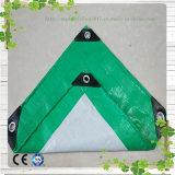 PEの防水シートの深緑色の&Gray耐火性のプラスチック屋根ふきカバー