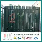 Qym-W d бледнеет загородка Palisade утюга исправленная перилами