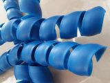 Protezione a spirale su ordinazione del tubo flessibile con il diametro differente