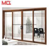 Porte coulissante en verre en aluminium de véranda résidentielle intense de villa