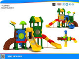 Спортивная площадка игры детей оборудования парка атракционов скольжения детей напольная пластичная напольная