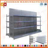 Shelving стального стеллажа для выставки товаров магазина полки супермаркета сверхмощный (Zhs221)
